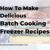 How To Make Delicious Batch Cooking Freezer Recipes