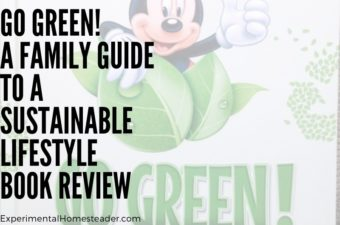 An image of part of the Go Green! A Guide To A Sustainable Lifestyle book from Disney.