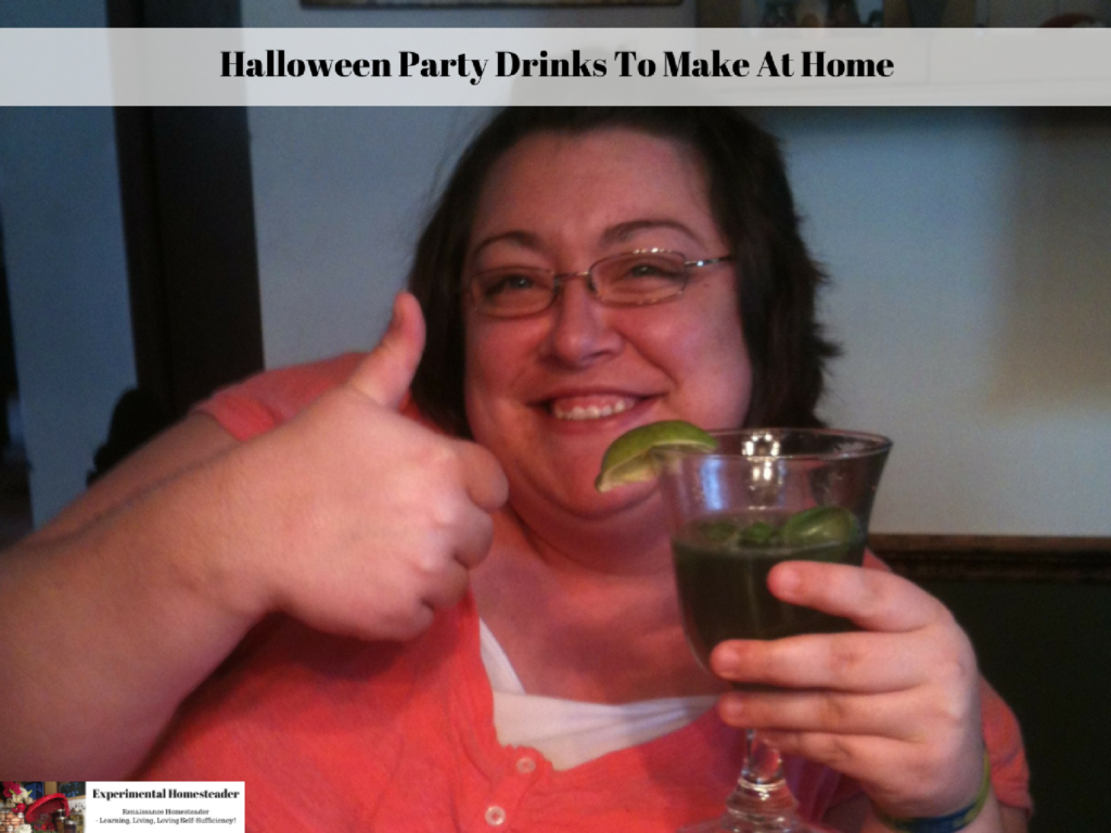 Halloween Party Drinks To Make At Home