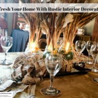 Refresh Your Home With Rustic Interior Decorating
