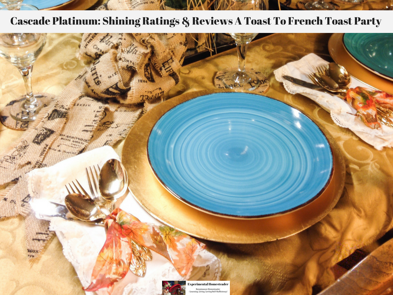 Cascade Platinum: Shining Ratings & Reviews A Toast To French Toast Party
