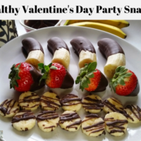 Valentine's Day Healthy Party Snacks