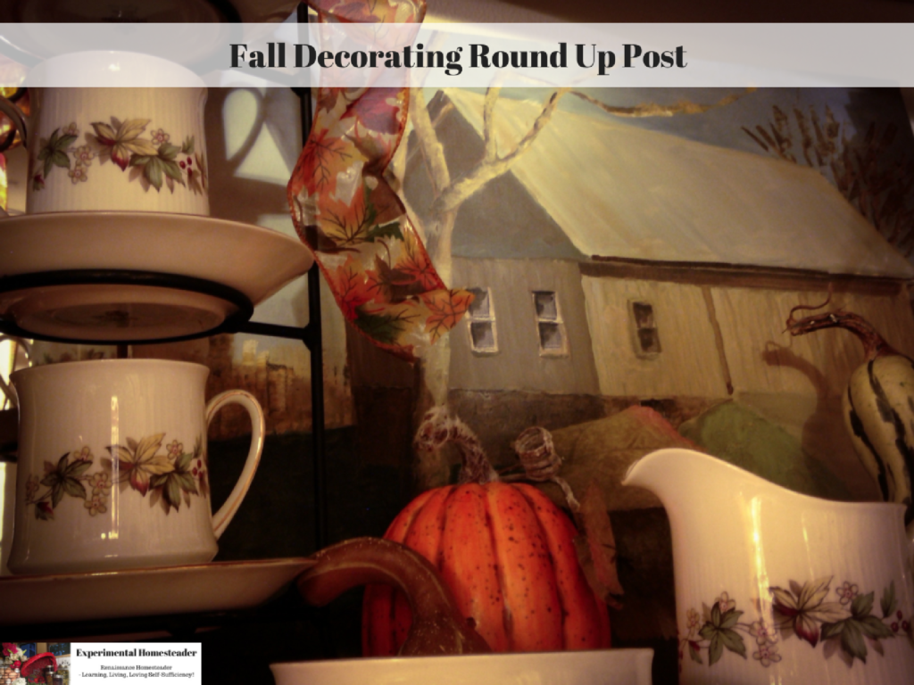 Fall Decorating Round Up Post