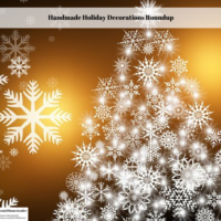 Handmade Holiday Decorations Roundup