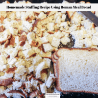 Homemade Stuffing Recipe Using Roman Meal Bread