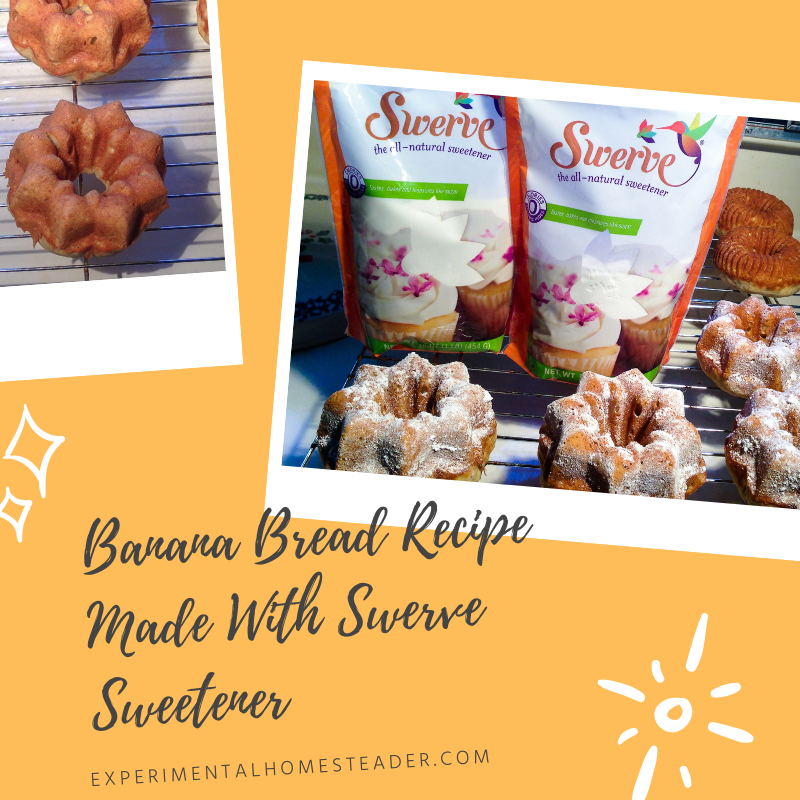 Banana Bread Recipe Made With Swerve Sweetener