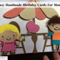 Easy Handmade Birthday Cards For Moms