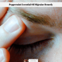 Peppermint Essential Oil Migraine Remedy