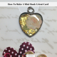 How To Make A Mini-Book Cricut Card