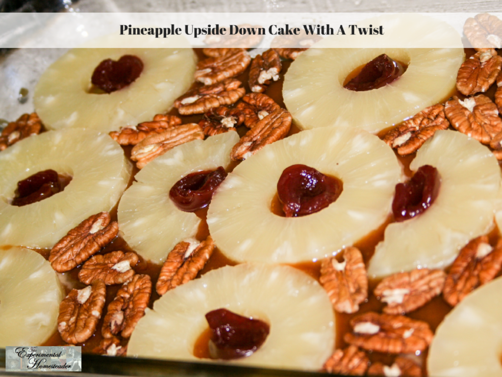 Pineapple Upside Down Cake With A Twist