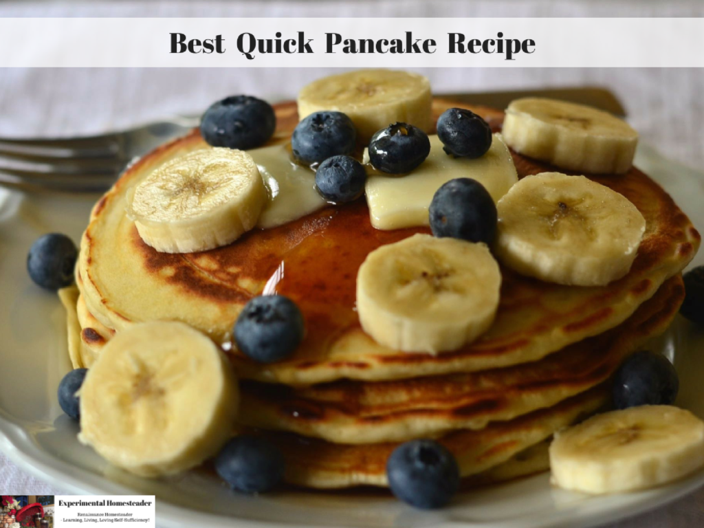 Best Quick Pancake Recipe