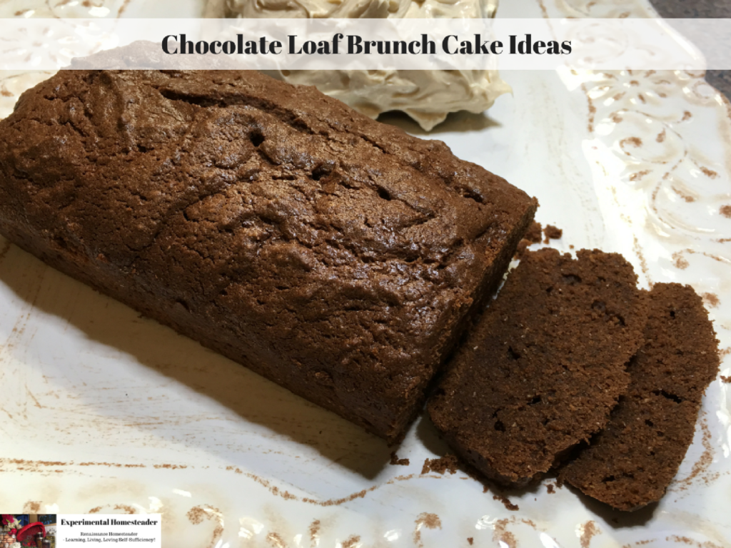 Chocolate Loaf Brunch Cake Ideas