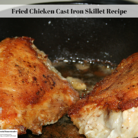 Fried Chicken Cast Iron Skillet Recipe