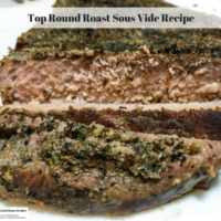 Top Round Roast Sous Vide Recipe