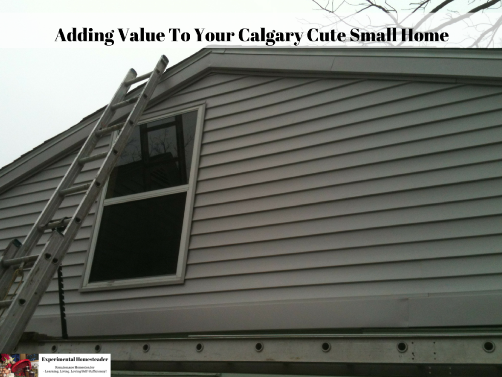 Adding Value To Your Calgary Cute Small Home