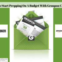 How To Start Prepping On A Budget With Groupon Coupons