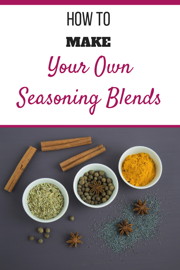 Whole and ground seasonings.