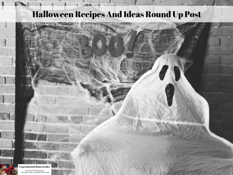 Halloween Recipes And Ideas Round Up Post - Experimental Homesteader