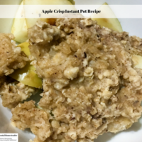Apple Crisp Instant Pot Recipe