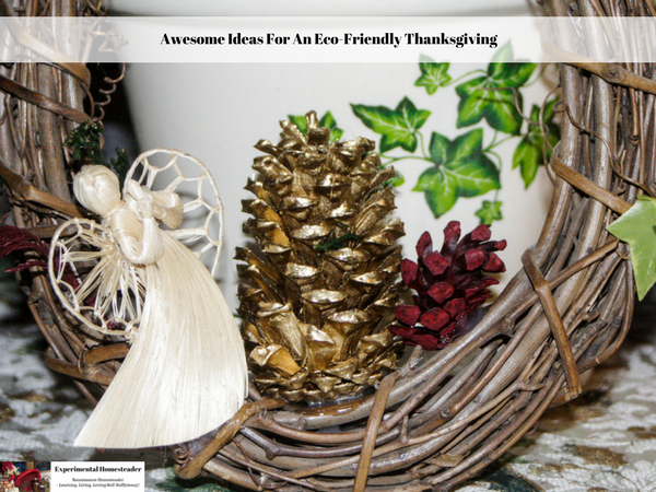 Awesome Ideas For An Eco-Friendly Thanksgiving