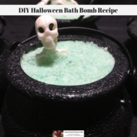 DIY Halloween Bath Bomb Recipe