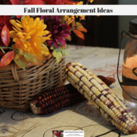 Fall Floral Arrangement Ideas