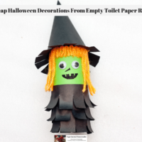 Cheap Halloween Decorations From Empty Toilet Paper Rolls