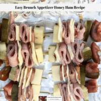 Easy Brunch Appetizer Honey Ham Recipe