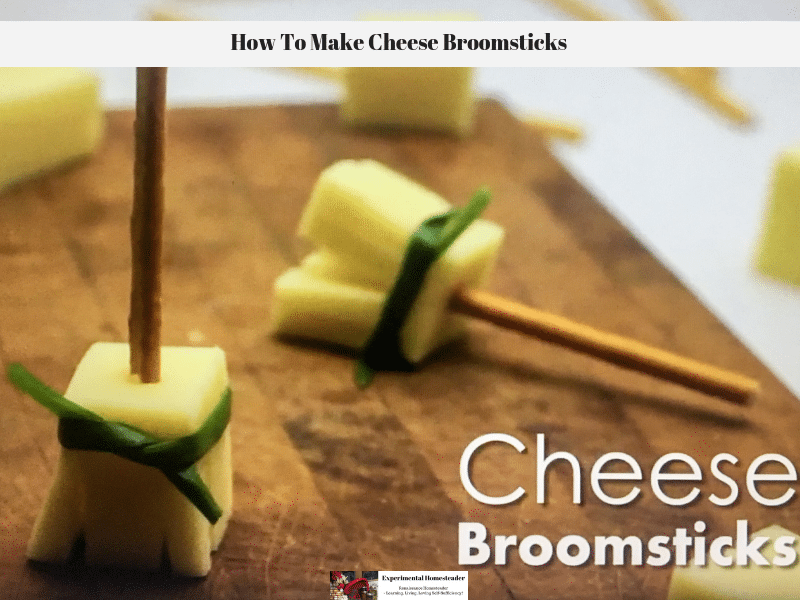 How To Make Cheese Broomsticks