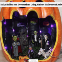 Easy To Make Halloween Decorations Using Makers Halloween Littles Decor
