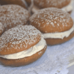 Whoopie Pies on a plate.