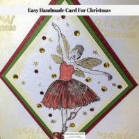 Easy Handmade Card For Christmas