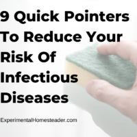 9 Quick Pointers To Reduce Your Risk Of Infectious Diseases