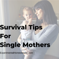 Emergency Survival Tips for Single Mothers