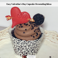 Easy Valentine's Day Cupcake Decorating Ideas