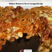 Mahon-Menorca Cheese Lasagna Recipe
