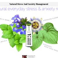 Natural Stress And Anxiety Management