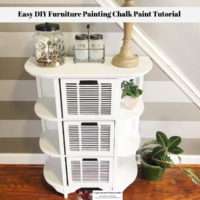 Easy DIY Furniture Painting Chalk Paint Tutorial