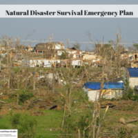 Natural Disaster Survival Emergency Plan