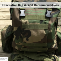 Evacuation Bag Weight Recommendations