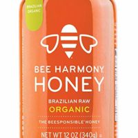 Bee Harmony Brazilian Raw Organic Honey, 12 Ounce
