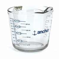 Anchor Hocking 4 Cup Measuring Cup w/ Blueberry Infusion,32 oz