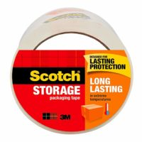 Scotch Long Lasting Storage Packaging Tape, 1.88 in. x 54.6 yd, 1 Roll/Pack