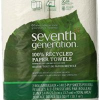 Seventh Generation Paper Towels Regular Roll, 140 Sheets, White, 1 Pack