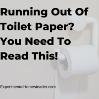 Running Out Of Toilet Paper? You Need To Read This!